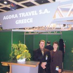 ITB Berlin was a family matter for Athens-based Agora Travel with Mr. and Mrs. Nikos Passas manning their ITB stand.