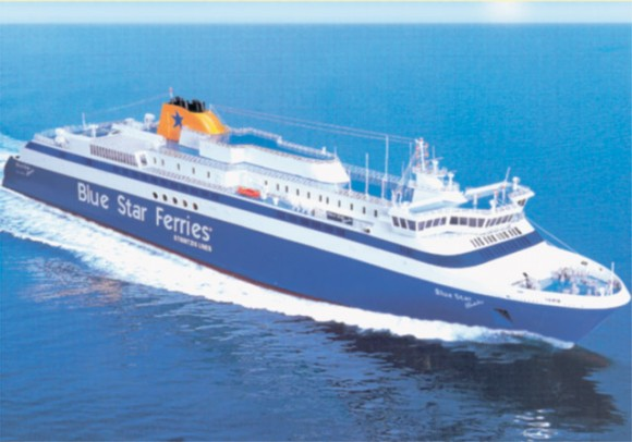 Strintzis lines accepted its newest super-fast ultra-modern ferry the Blue Star Ithaki, which will be the first of its type to ply Greek coastal waters.