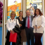 """Discover the World Marketing's """"dream team"""" in the company's Thessaloniki offices: Elena Tzini, the branch manager; Vasso Kefalidou, sales executive for northern Greece; Dinos Frantzeskakis, the company's managing director; and Olga Valma, marketing executive for northern Greece."""
