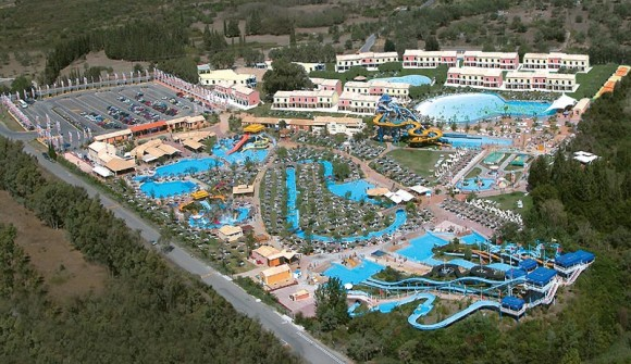 One of the most recent tourism projects completed is Aqualand Village on the island of Corfu.