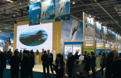 GNTO's stand at WTM 2007