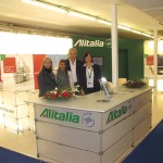 Evi Kousi, manager of Business Travel agency in Thessaloniki; Virginia Anagnostou, Alitalia's key account northern Greece; Yannis Nikolaou, director of Antaeus Travel; and Maritina Dolcetti, Alitalia's sales support. Alitalia recently announced a 10 percent discount on the normal applicable fare for baggage exceeding the normal baggage allowance. The discount is granted for purchase up to 24 hours before departure. The offer is valid until 15 December 2009.