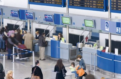 Athens International Airport last month reported improved passenger traffic and air flight figures.