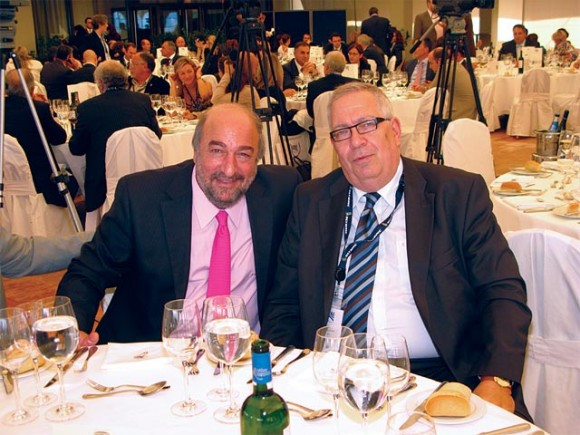 Deputy Culture and Tourism Minister George Nikitiadis and HATTA's President Yiorgos Telonis after SETE's tourism and development conference last month at the Westin Athens resort. The deputy minister recently expressed optimism to the Greek media over 2011 tourism trends and predicted double-digit growth in tourism next year.