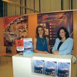Endeavor Lines' Tatiana Kontoperaki and Emmy Pothitou informed visitors on this season's special offers for the Brindisi to Greece route that included discounts for early bookings (20 percent), children (50 percent) and passengers over 60 years (10 percent). Endeavor Lines is working towards strengthening its presence on the Brindisi to Greece route and will add the new Princess T to their fleet within 2011.