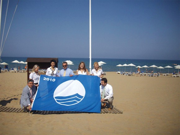 Greece ranked second place on the Blue Flag quality award list for 2011.