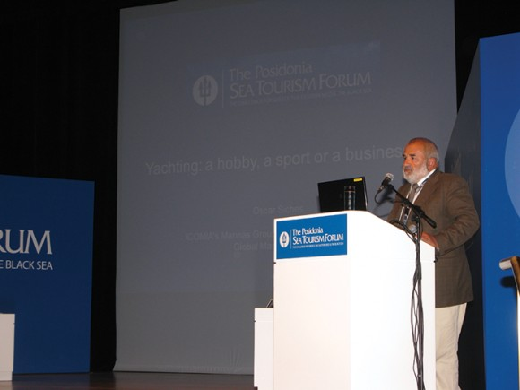 "The second day of the Posidonia Sea Tourism Forum lacked the presence of a government representative in the audience and left a bad impression on the forum's foreign speakers. ""There have been some 27 speakers, many of them from abroad, and any government people who attended left after 20 minutes and did not hear what was discussed and this is very sad,"" said Oscar Siches who manages marinas in Mallorca, Spain."