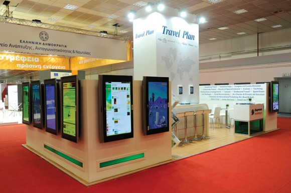 Travel Plan's stand at the 76th TIF.
