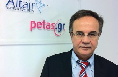Ilias Souvatzis, Director of Altair Travel S.A.