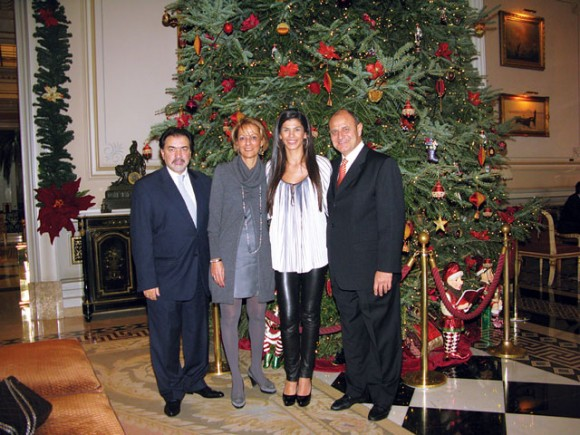 The annual Christmas party of Starwood Hotels and Resorts Greece was held last December at Hotel Grande Bretagne in Athens.