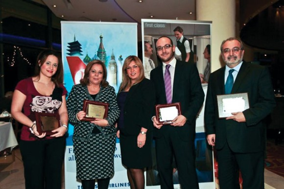Turkish Airlines hosted a dinner in honor of its partner Greek travel agencies.