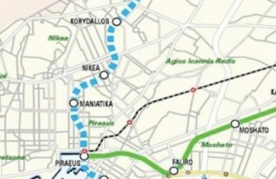 Metro line 3: Haidari-Piraeus section.