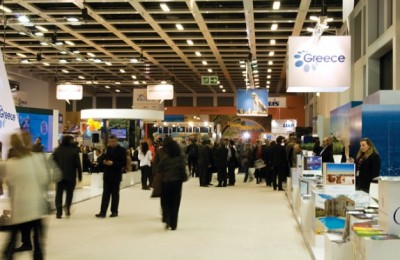 GNTO stand at ITB 2012.