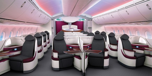 Qatar Airways' new Boeing 787 seats will make their long-haul debut on the Doha-London Heathrow route this summer. The airline's new 787 seats promise to deliver a whole new passenger travel experience across both cabins with the industry's newest aircraft.