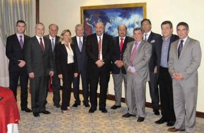 The second annual meeting of the European Hotel Managers Association (EHMA) Greek-Cypriot Chapter at the Athens Plaza.