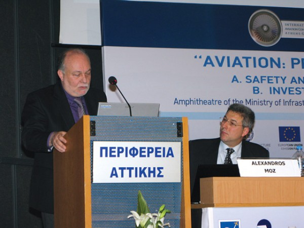 """During the seventh """"Aviation: Present and Future"""" conference, Sergios Labropoulos, from the Transport Ministry, extensively mentioned the Kasteli Airport concession for which an open procedure tender had been launched and, after several postponements, was unsuccessful. The initial plan was for Kasteli Airport to replace the existing Heraklio Airport """"Nikos Kazantzakis"""" by summer 2015 and operate on the standards of Athens International Airport with the state holding a 55 percent stake. (Key tourism industry sectors such as the Association of Greek Tourism Enterprises and the Hellenic Association of Airlines Representatives had expressed their opposition to the plan due to the high costs involved.)"""