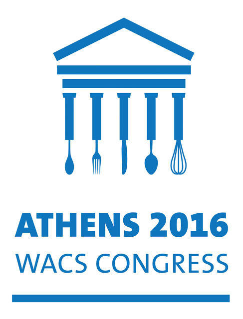 Athens was selected to host the 37th World Association of Chefs Societies (WACS) Congress in May 2016.
