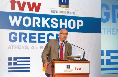 "During his opening speech, the president of the Hellenic Chamber of Hotels, Yiorgos Tsakiris, said ""things are not good"" since bookings were reported to have dropped by 30 percent compared to last year. The drop came mainly from major markets such as Germany and Austria."
