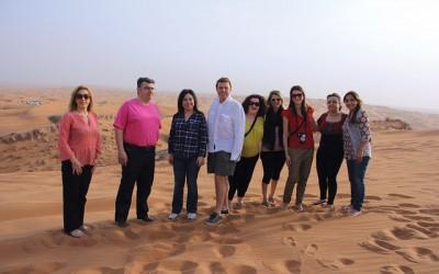 Marathon Travel fam trip to UAE.