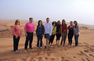 Marathon Travel fam trip to UAE.