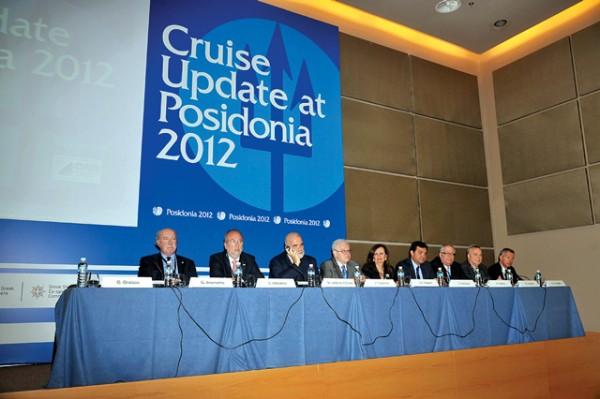 Cruise Update Seminar at Posidonia 2012.