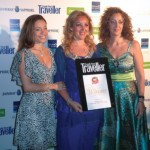 "MidEast Travel and Tourism was voted ""Best Travel Agency"" in Greece for the second consecutive year by readers of Conde Nast Traveller. Pictured: Elina Argyri, Mid East marketing and communications; Katerina Mousmpe, Mid East general manager; and Maria Mousmpe, Mid East director."