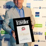 "Navigator Travel & Tourist Services was honored for the second consecutive year as the ""Best Small-Ship Cruise Line."" Pictured is the company's chairman Andreas Stylianopoulos."