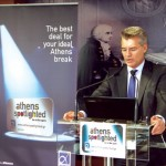 Athens International Airport's CEO Yiannis Paraschis.