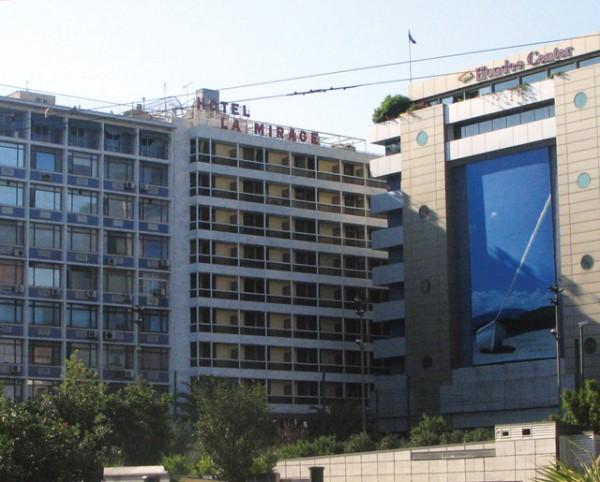Former La Mirage hotel, Omonia Square.