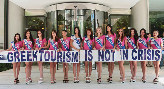 16th Miss Tourism Planet beauty pageant contestants.