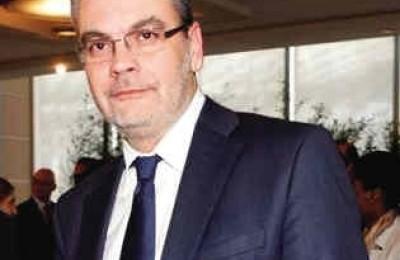 GNTO president, Konstantinos Zikos