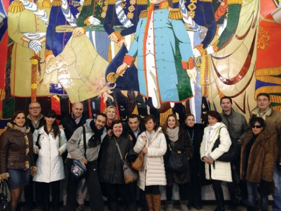 Detto Travel's fam trip for Greek travel agents (24-27 November 2011).