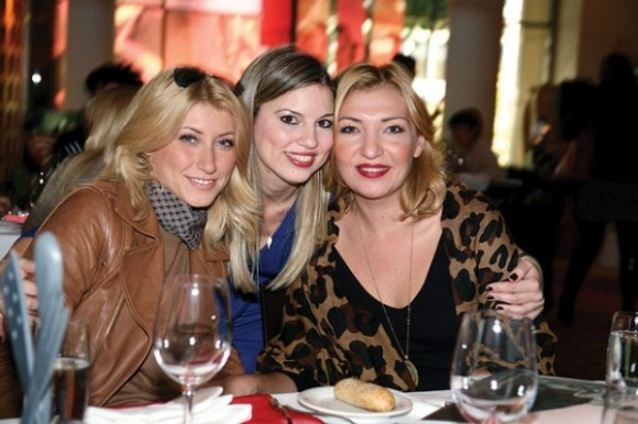 The Byzantine restaurant of the Hilton Athens hosted the hotel's 2011 Xmas brunch.