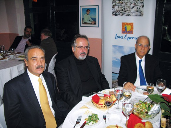 Cyprus Tourism Organization's 2011 Christmas event held in central Athens.