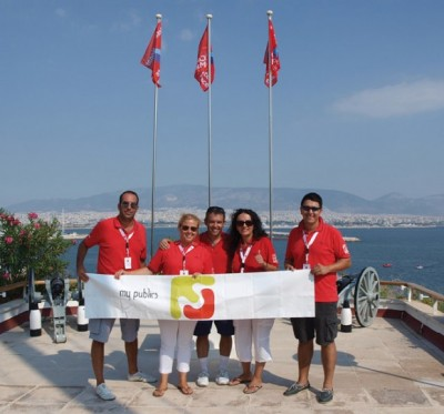My Publics sailing team
