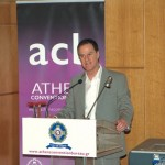 """Rob Davidson from the University of London and Greenwich speaking at the Athens Convention Bureau's second """"ACB event."""""""