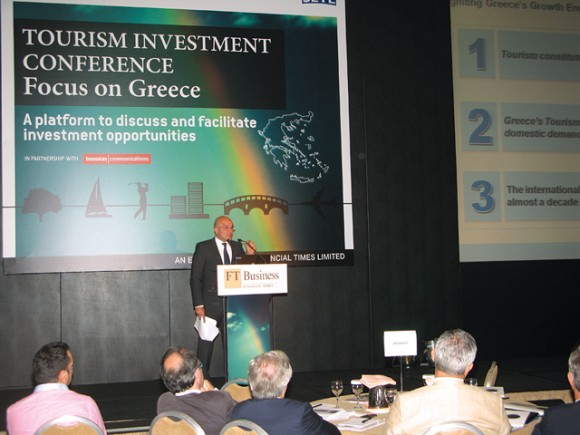 """""""Tourism's impact on the Greek economy has the potential to increase by as much as some 20 billion euros in the next 10 years,"""" John Gikopoulos, associate partner of McKinsey and Company, said."""