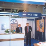 GTP's seasoned sales duo, Stephanos Tsimopoulos and Thanasis Kavdas, manned the Greek Travel Pages' stand at ITB Berlin again this year.