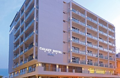 Airotel's newest member, the fully revamped four-star Galaxy Hotel in Kavala.