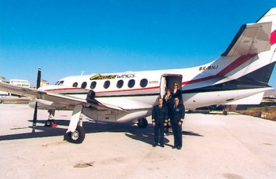 Hellas Wings recently took delivery of a new Jetstream 31.