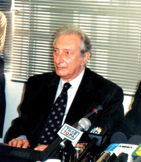 The organization's president, Yiannis Stefanides.