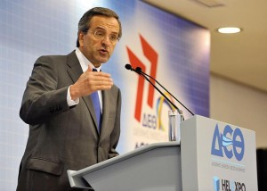 At this year's Thessaloniki International Fair, Prime Minister Antonis Samaras disregarded tradition and did not announce any government plans for 2013. He did, however, assure the audience that the soon to be announced (austerity) measures would be the last ones.