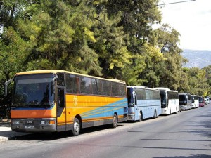 The establishment of a special electronic seal of authenticity for Greek tour buses was discussed between the General Pan-Hellenic Federation of Tourism Enterprises and the Transport Ministry. The seal is said to put an end to the circulation of illegal coaches.