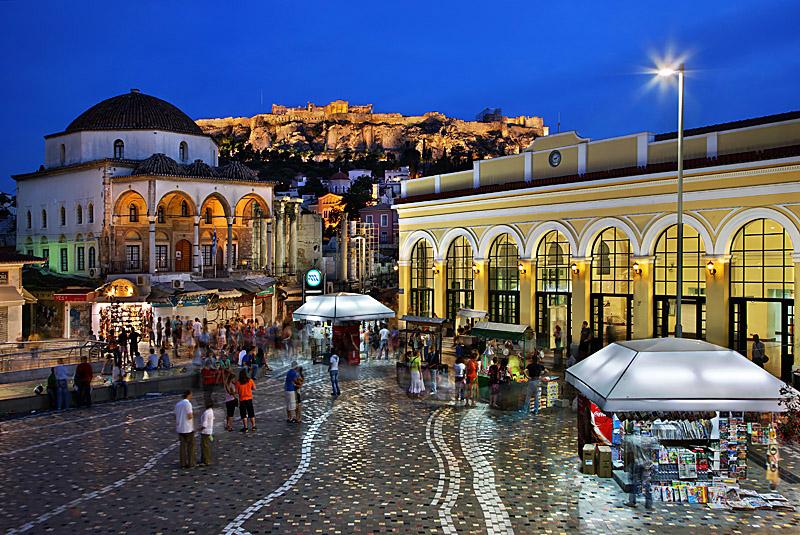 Monastiraki, Athens flea market