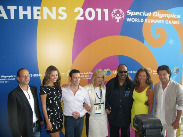Special Olympics World Summer Games Athens 2011 opening ceremony press conference.
