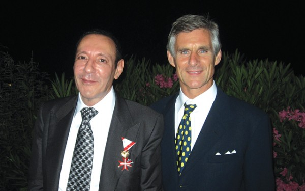 Antonis Stergiotis, president and CEO of Club Hotel Loutraki SA and Ambassador of Austria in Athens, Dr. Michael Linhart.