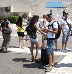 The Athens Development and Destination Management Agency has plans for additional tourist services signs, information points and iphone applications via NSRF funds and in collaboration with other local authorities and government agencies, according to the agency's chairman, Yiorgos Broulias.