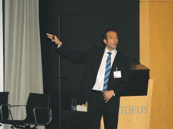 Amadeus' travel agency strategy expert Sergio Vargas.