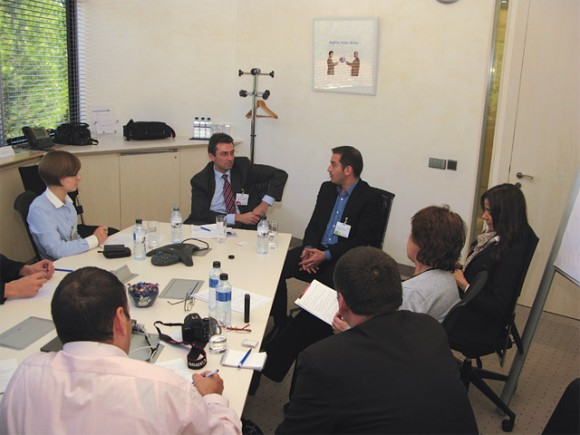 Within the framework of the CESE e-Commerce Leaders Forum 2010, Amadeus' Juan Antonio Carrasco and Jean Marc Garzulino held a media briefing for journalists from the CESE region.