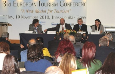 "During the 3rd European Tourism Conference, Olga Kefalogiannis, New Democracy MP responsible for tourism issues, mentioned it was crucial for Greece to develop ""green tourism""—the tourism development that requires new ""habits"" to be adopted by both the entrepreneur and the consumer. ""These are simple practices that reduce the operating costs of a business and are summarized with the four R's: Reduce, Reuse, Recycle and Respect,"" she stressed."
